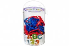 Wilton : ABC and 123 Cookie Cutter Set - 101 Pieces
