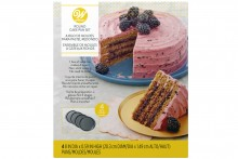 "Wilton : 4 Piece Easy Layers! 8"" Round Cake Tin Set"