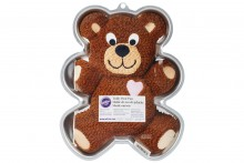 Wilton : Cake Tin - Teddy Bear