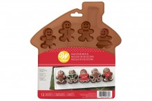 Wilton : Silicone Gingerbread Mould