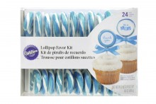 Wilton : Blue Lollipop Kit