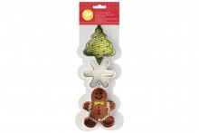 Wilton : Christmas Cookie Cutter Set