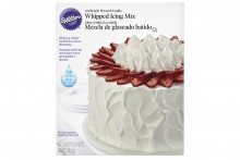 Wilton : Whipped Vanilla Icing - 283g