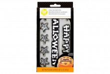 Wilton : Happy Halloween Royal Icing Decorations - Set of 12