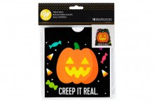 Wilton : Drawstring Treat Bag - Pumpkin - Pack of 18