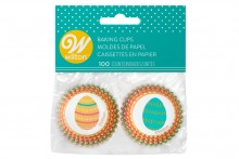 Wilton : Mini Baking Cases - Easter Eggs - Pack of 100