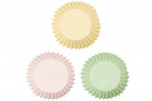 Wilton : Mini Baking Cases - Pastel Colours - Pack of 100