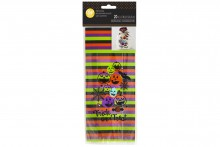 Wilton : Standard Treat Bag  - Trick or Treat - Pack of 20