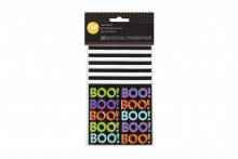 Wilton : Mini Treat Bag - BOO! - Pack of 20