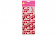 Wilton Standard Treat Bag - Hearts - Pack of 20