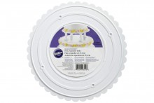 Wilton : Decorator Preferred Scalloped Edge Separator Plate - 10""