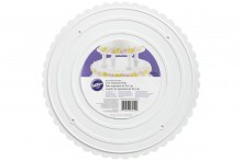 Wilton : Decorator Preferred Scalloped Edge Separator Plate - 12""