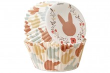 Wilton : Standard Baking Cases - Easter Bunny - Pack of 75