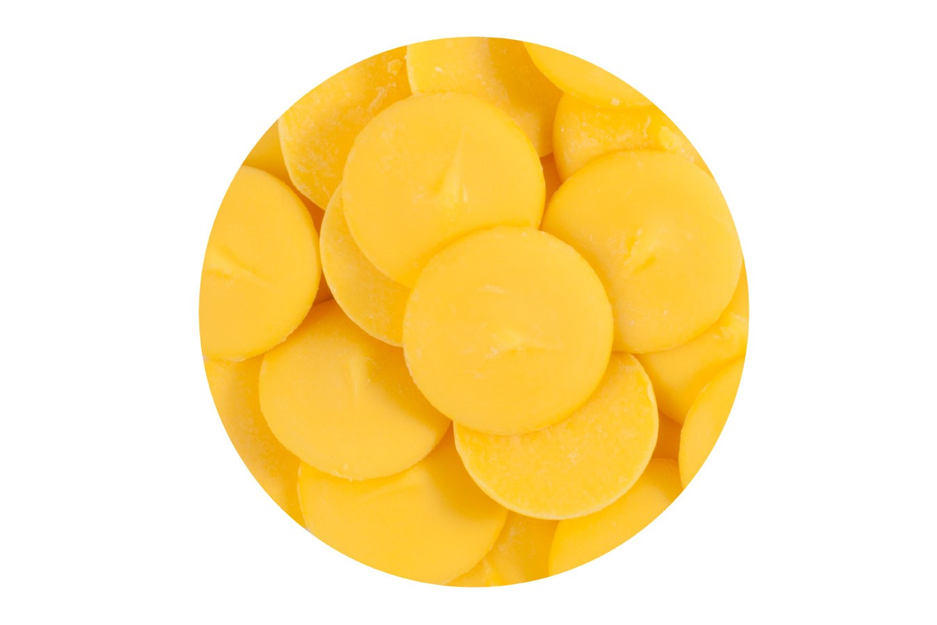 Yellow Candy Buttons Vanilla Flavoured Doric Cake Crafts