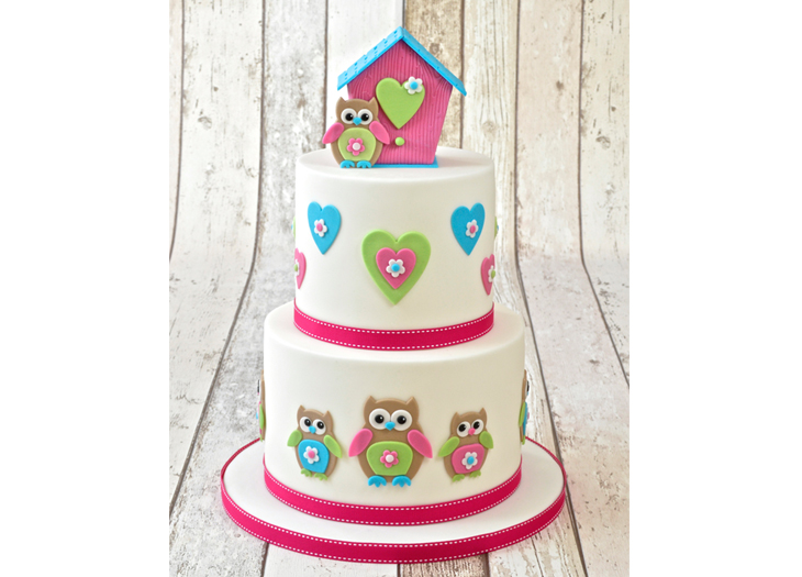 FMM Cute Mummy and Baby Owl Cutter Set